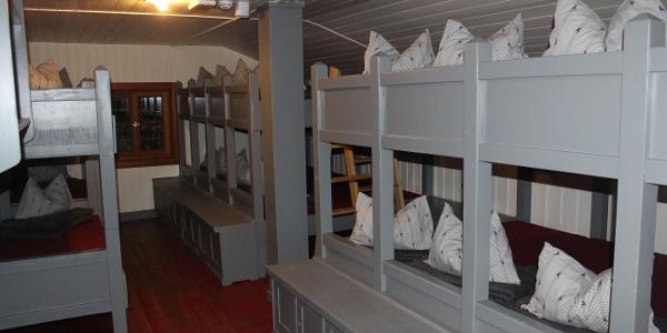 Lager auf dem Taubensteinhaus
