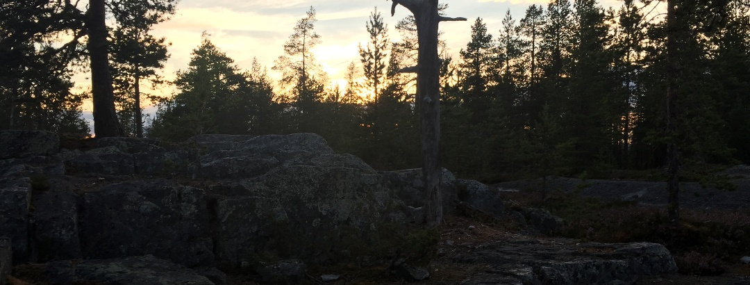 Am Ounasvaara in Rovaniemi