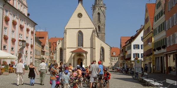 Marktplatz und Dom in Rottenburg