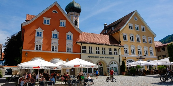 Cafés am Marienplatz Immenstadt
