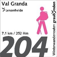 Routennummer 204