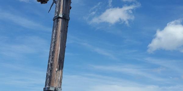 Gipfelkreuz Saulakopf