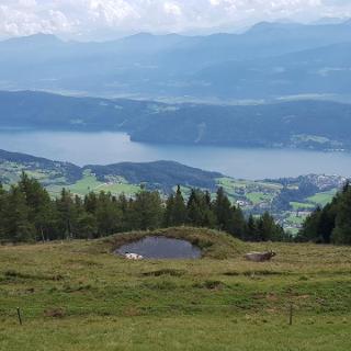 Alexanderhütte Blick auf dem See