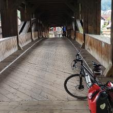 Holzbrücke in Forbach
