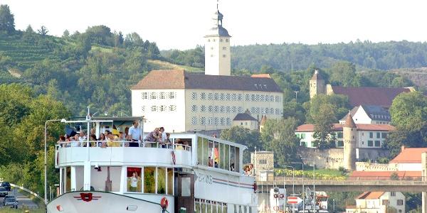 Schiff bei Gundelsheim