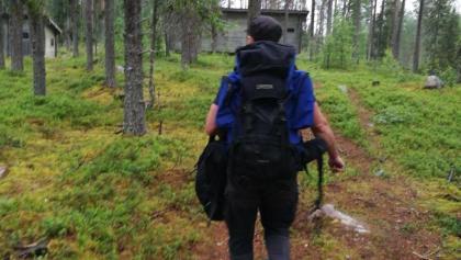 Wanderung zur Bären-Beobachtungs-Hütte