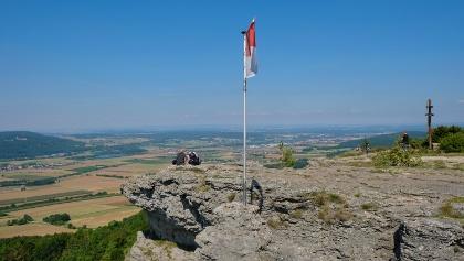 Fahne auf dem Staffelberg