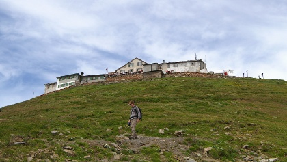 Berghotel Faulhorn.