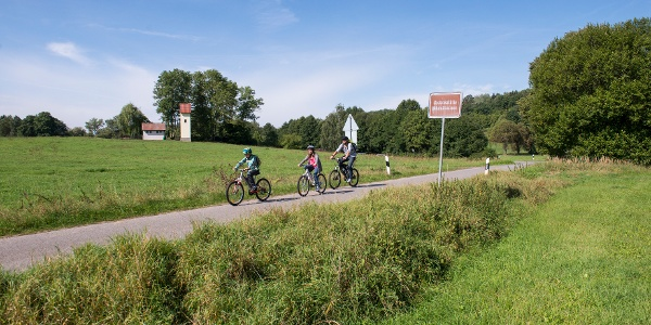 Radfahren im Rodachtal