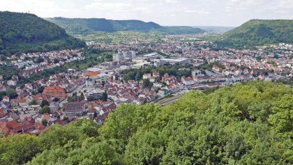 Die Fünftälerstadt Geislingen