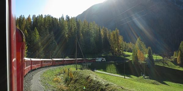 Rhätische Bahn.