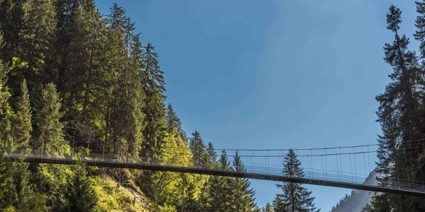 Hängebrücke Val da Silgin