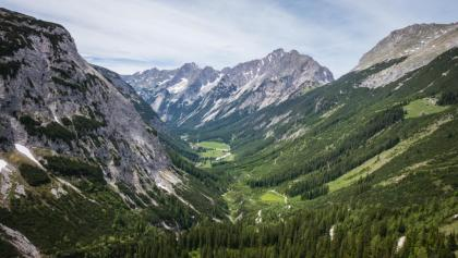 View from Karwendelhaus