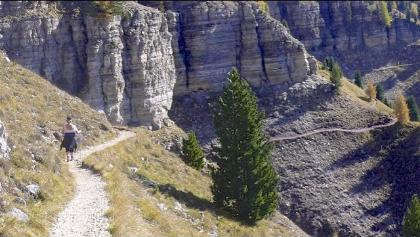 Südtirol ,Hirzelweg im Rosengarten.