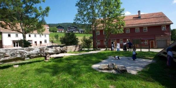 Das Gelände der Glashütte Buhlbach