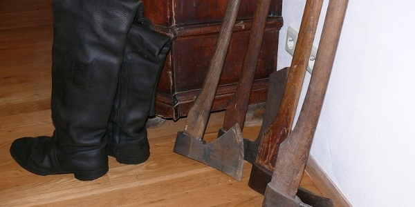 Detail aus der Flößerstube im Museum Schloss Wolfach