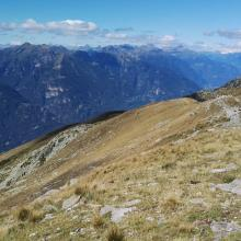 Blick nach Norden die Leventina hoch