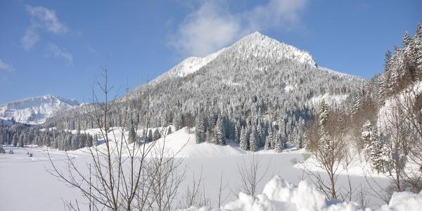 Das DAV-Haus Spitzingsee im Winter - Eine traumhafte Kulisse!