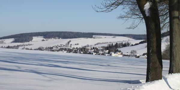Winterimpressionen Crottendorf