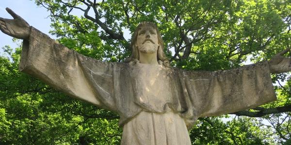 Miniaturausgabe der Christusstatue von Rio de Janeiro