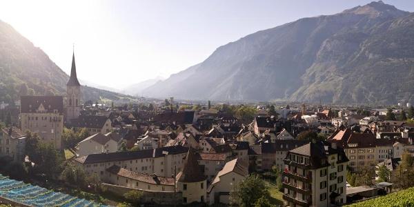 Blick auf die Churer Altstadt
