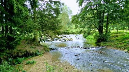 Rivier de Geul, pad grensroute 2 loopt hier langs