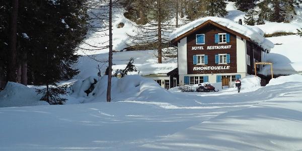 Hotel Restaurant Rhonequelle.
