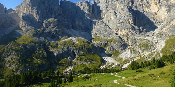 Abstieg ins Durontal (1.995m)