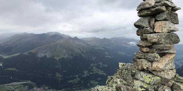 Klosters vom Älpeltispitz