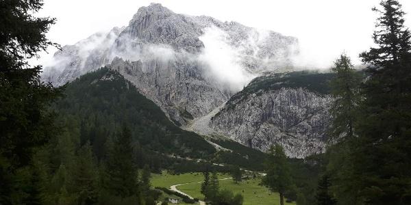 Speckkarspitze und Lafatscherjoch