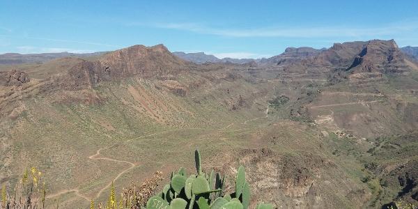 Aussichtspunkt Degollada de las Yeguas