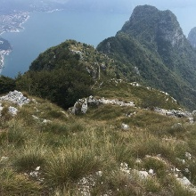 Der Abstieg vom Roccetta Giochello
