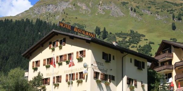 Hotel Walserhof Sommer