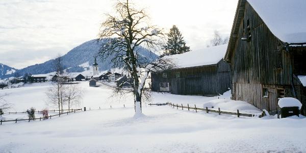 Winter in Hittisau