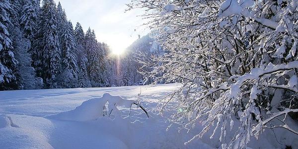 Winter in Sibratsgfäll