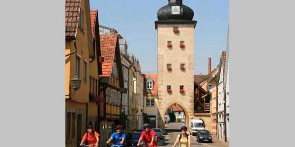 Radler in Weikersheim