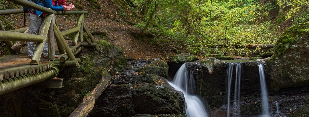Wasserfall in der Ehrbachklamm