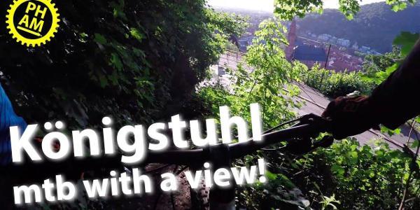 HARDCORE UPHILL SINGLETRAIL | Mountain biking the Königstuhl in Heidelberg after work