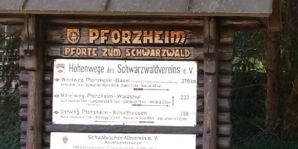 Start in Pforzheim
