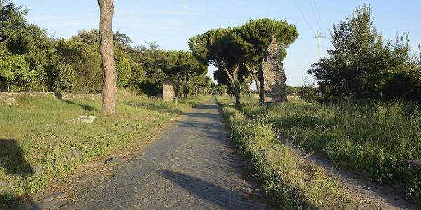 Abschnitt der Via Appia bei Casal Rotondo