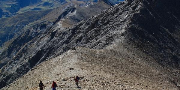 Gratwandern am Albristhorn.