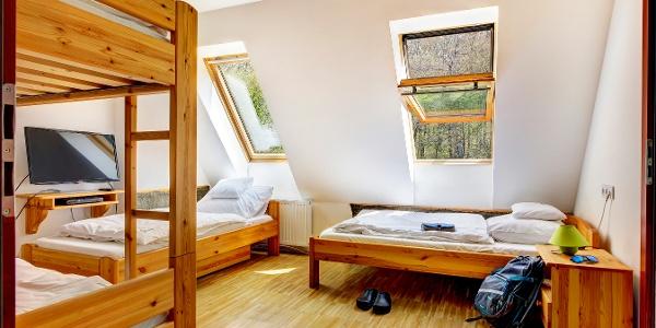 Alvóhelyek a Szalajka-házban