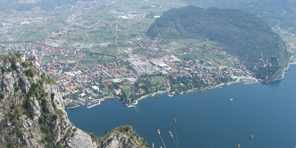 Vista su Riva del Garda