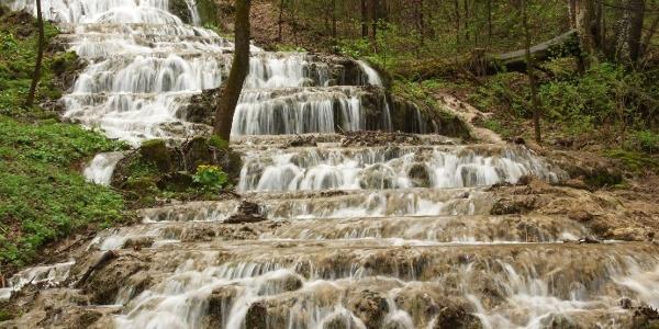 Fátyol-vízesés (Veil Falls) in Szalajka Valley