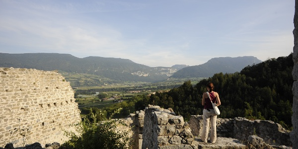 Vista da Castel Restor