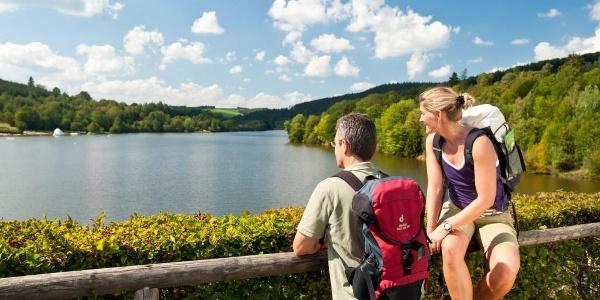 Vulkaneifel-Pfad: Schneifel-Pfad_Kronenburger See