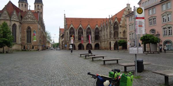 Rathaus und Martinikirche in Braunschweig (Mai 2017)