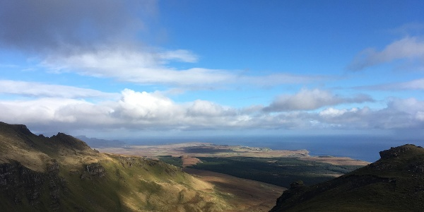 The view from The Storr