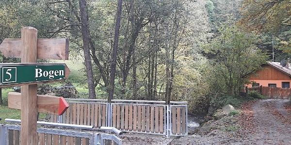 Brücke bei der Talmühle