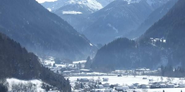 Blick Richtung Silvretta Skigebiet